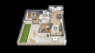 appartement 002 de type T3