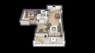 appartement 005 de type T3