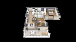 appartement 006 de type T2